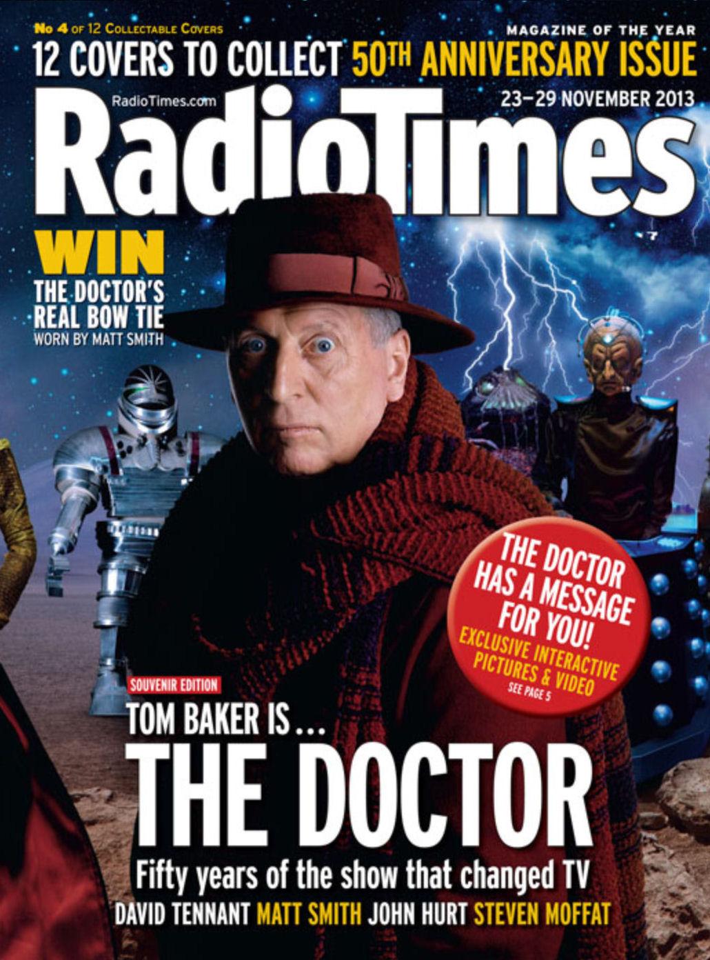 Radio Times 50th Anniversary Covers Planet Mondasplanet
