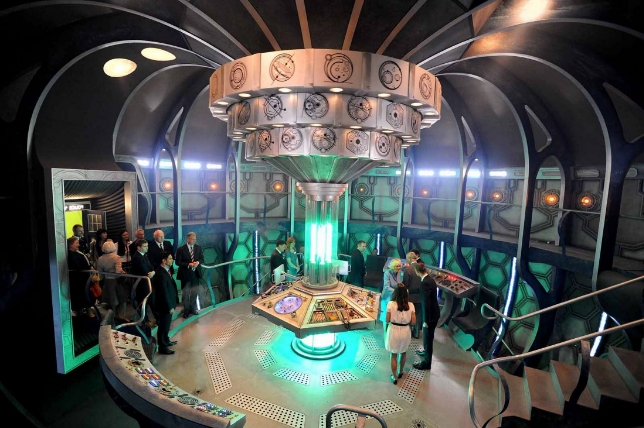 TARDIS  2013  The Time of The Doctor  Before the change