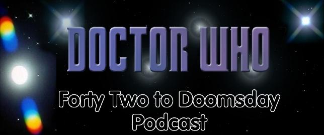 42 to Doomsday Podcast Logo