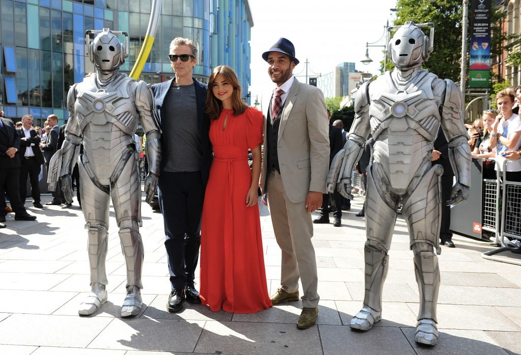 'Doctor Who' TV series premiere, Cardiff, Wales, Britain - 07 Aug 2014