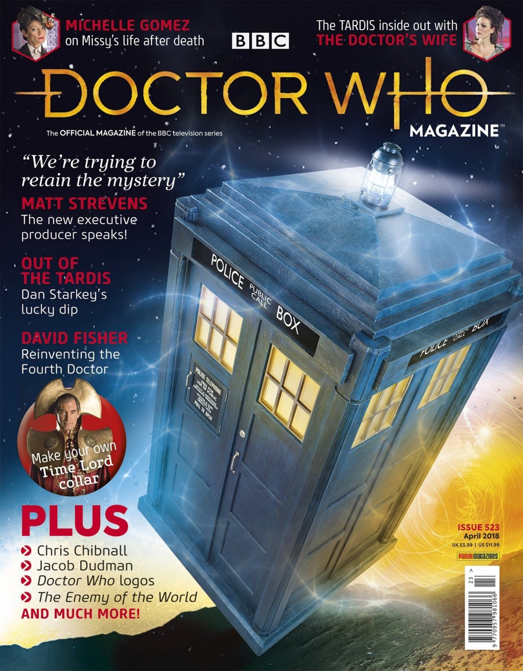 Doctor Who Mag 523