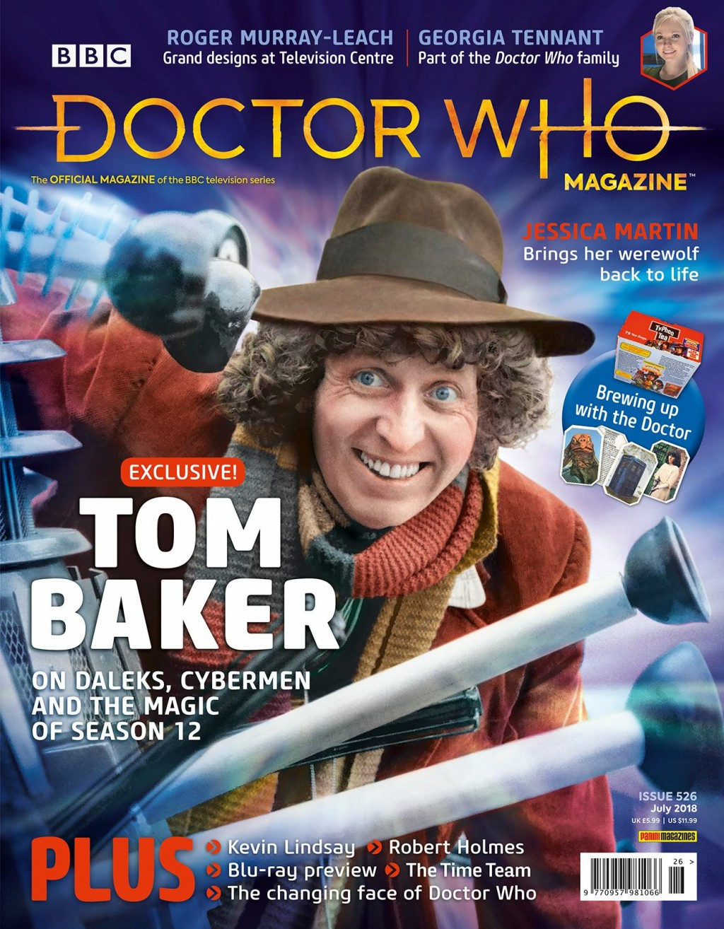 Doctor Who Magazine #526