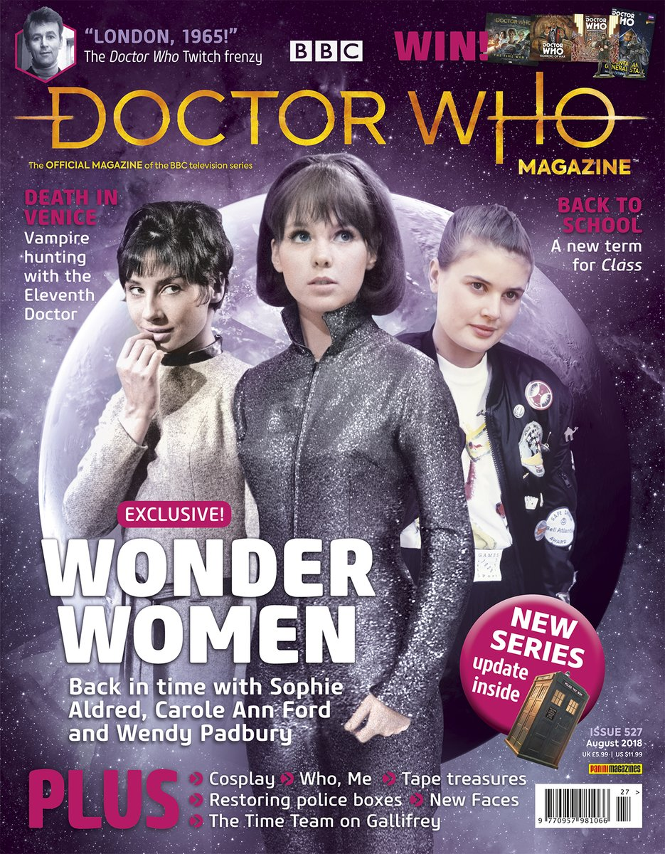 Doctor Who Magazine No. 527