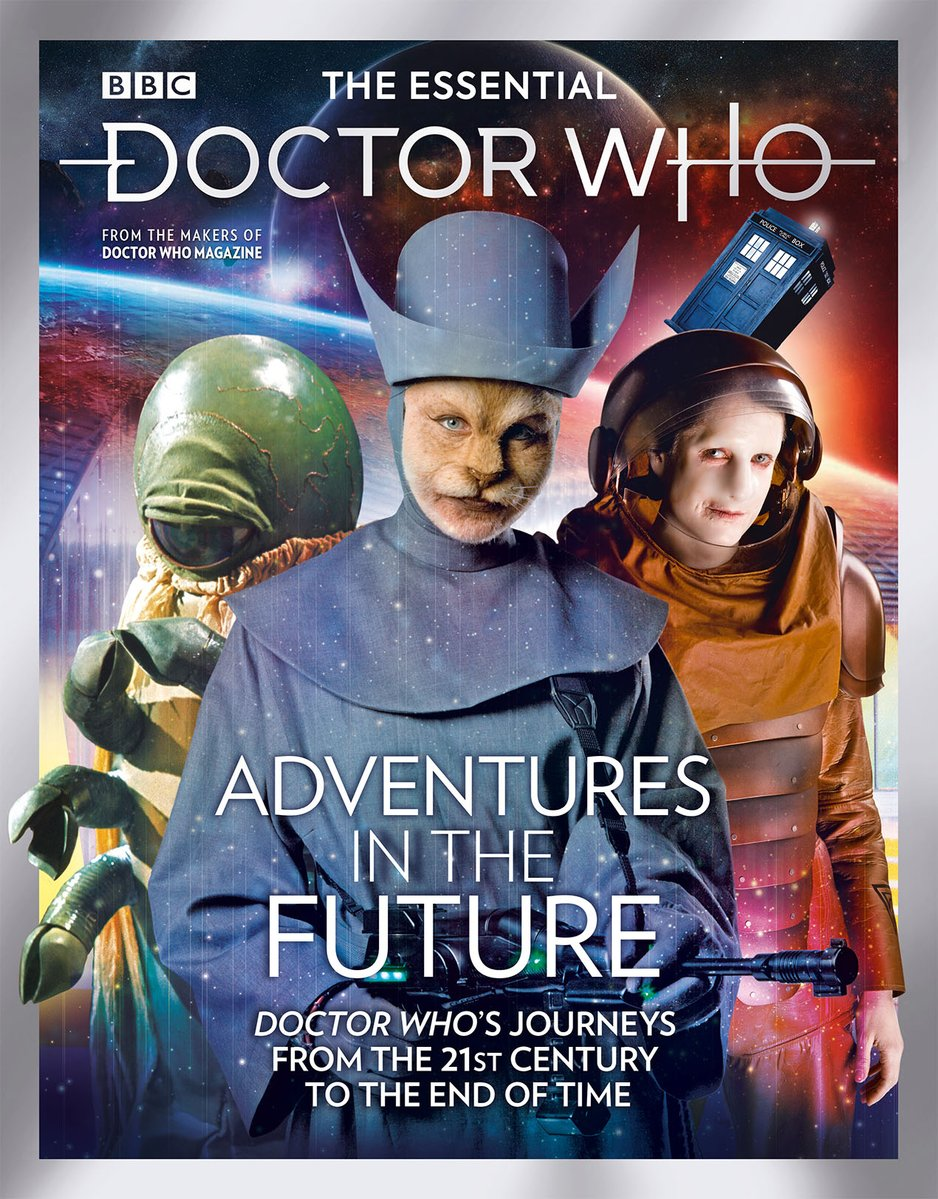 The Essential Doctor Who Adventures in the Future