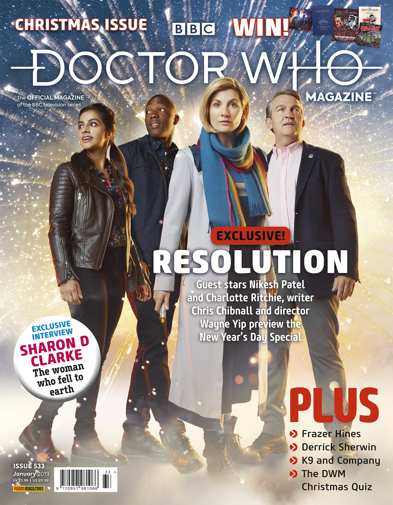 Dr Who Christmas Special 2019.Doctor Who Magazine 533 Planet Mondasplanet Mondas